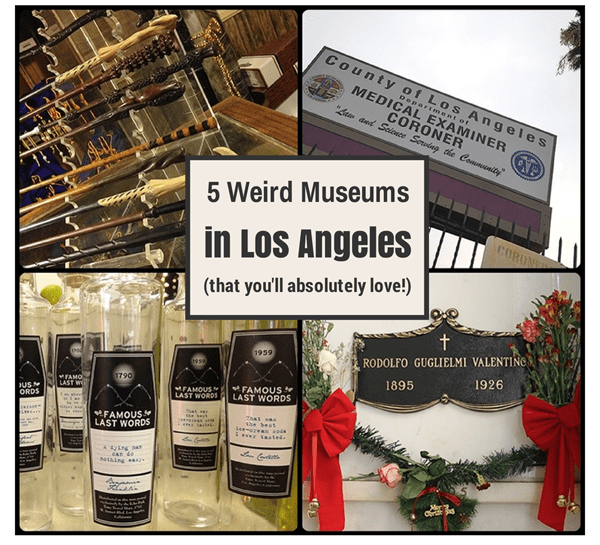 5 weird museums in los angeles