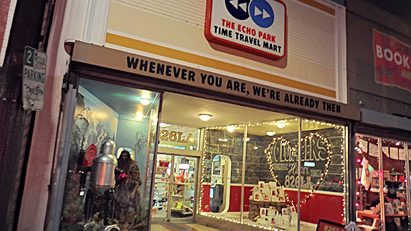 Time Travel Mart in Echo Park, weird museums los angeles, things to do los angeles, weird museums los angeles