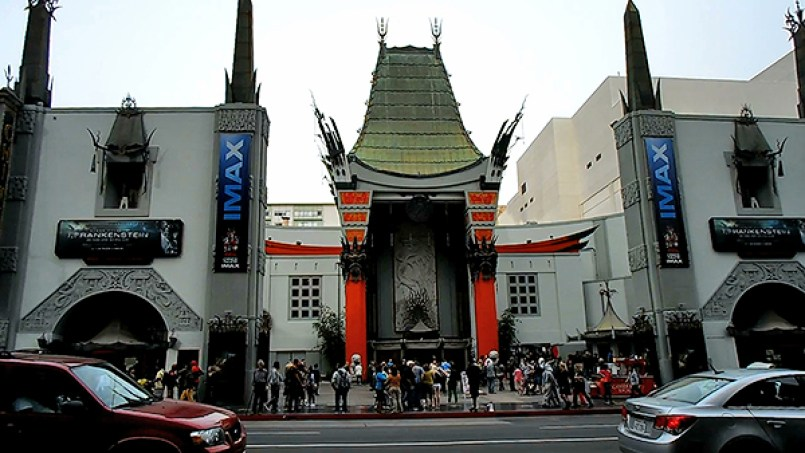 manns chinese theater, hollywood boulevard