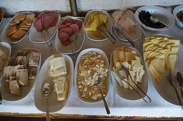 turkish breakfast buffet, kelebek hotel