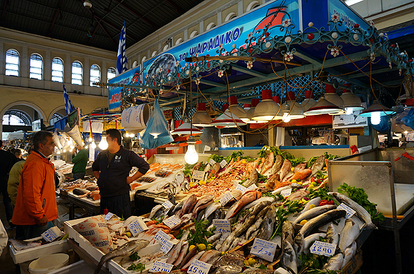 best things to do in athens, athens travel guide, central market athens