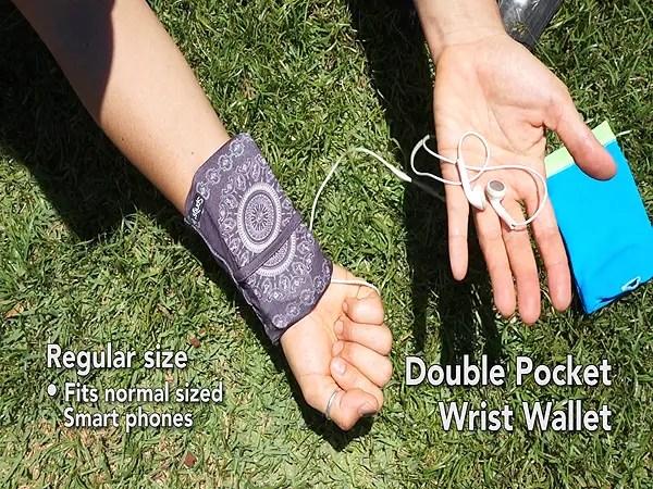 Bangees Wrist Wallets