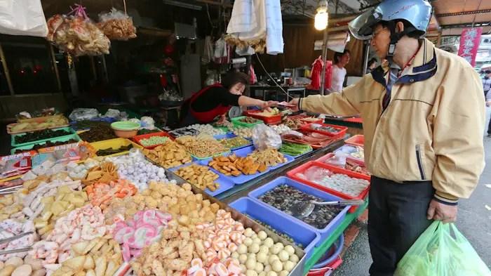 taipei food tour- wet market