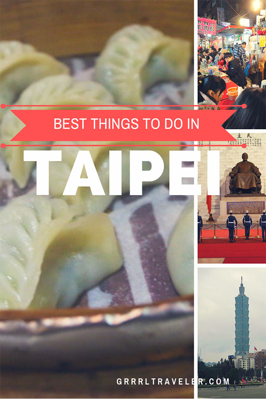 Travel Guide Taipei