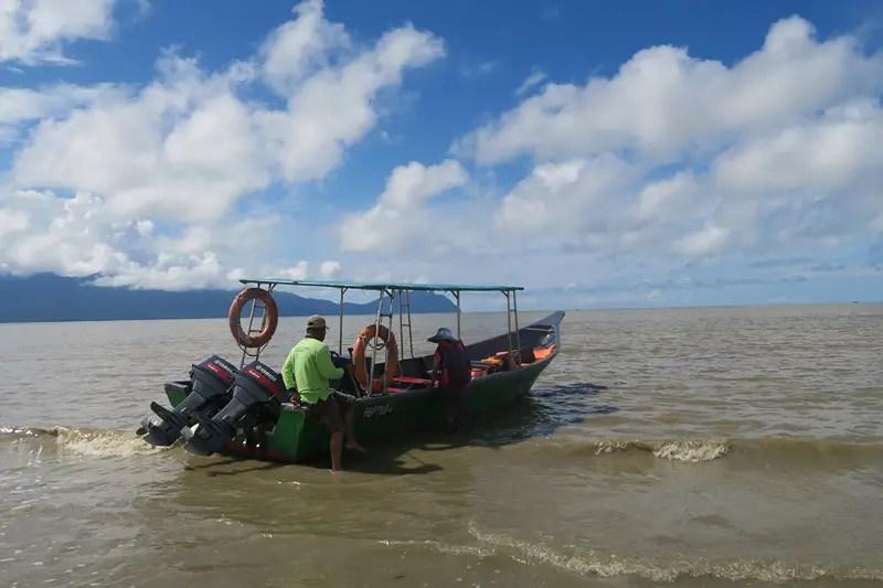 Boat to bako, boats at bako kuching,
