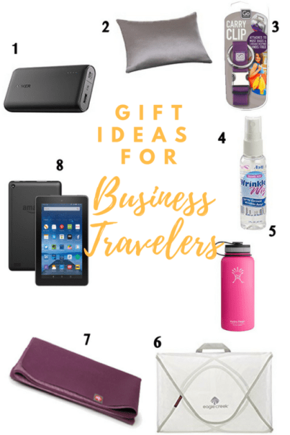 Gift Ideas for Business Travelers, Gift Guide for Business Travelers