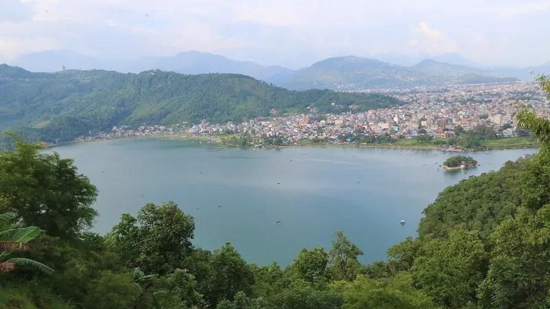 best view of pokhara, view of pokhara, boats on phewa lake, pokhara, travel guide pokhara, things to do in pokhara