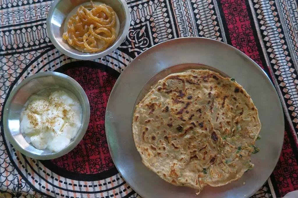 Indian etiquette, common indian foods