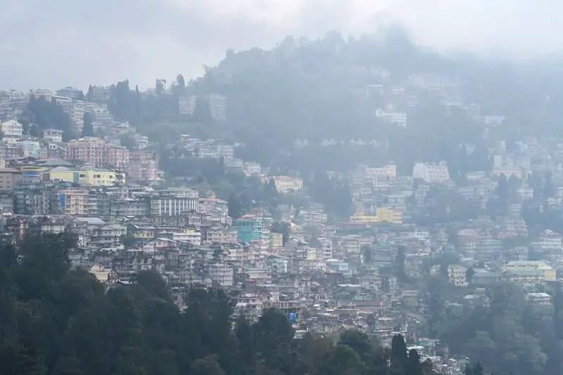 View Darjeeling region, Darjeeling view