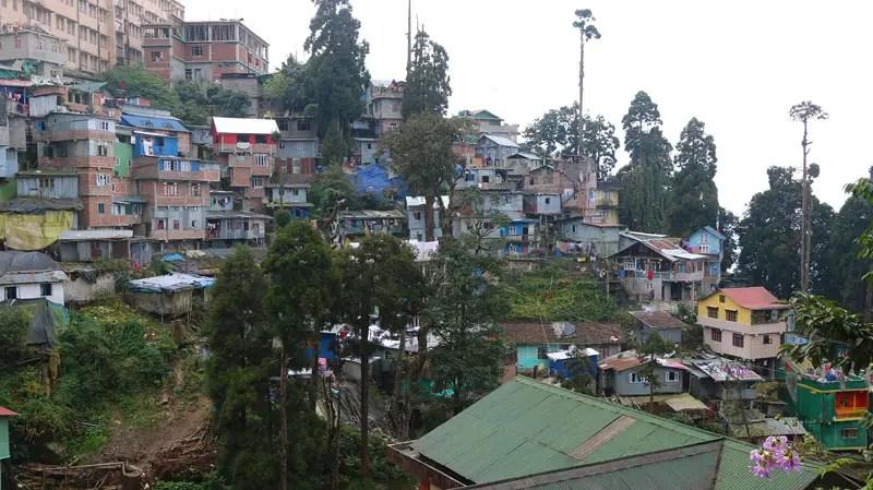 Darjeeling hillside apartments
