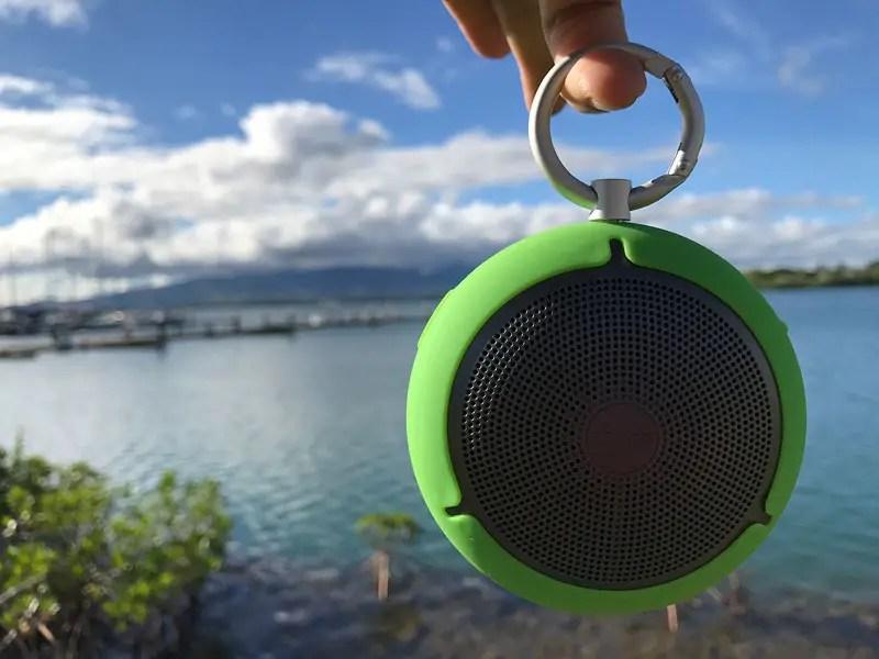Outdoor Travel Speaker, Edifier MP100 Travel Speaker, edifier travel speaker review
