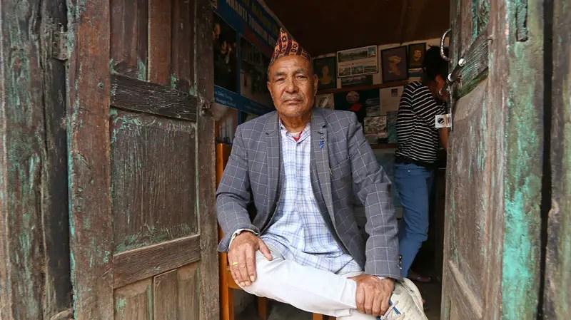 newari man, panauti homestay, nepal homestays, nepal homestay, panauti town,