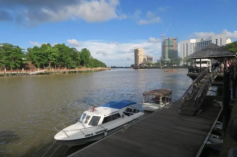 Kuching river waterfront best thing to do in kuching, kuching travel guide, kuching sarawak