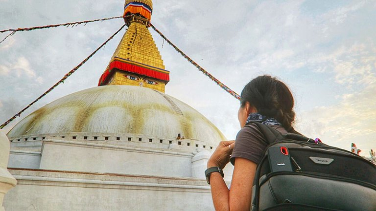 boudhanath stupa nepal, Peace Park Boudha, boudha attractions