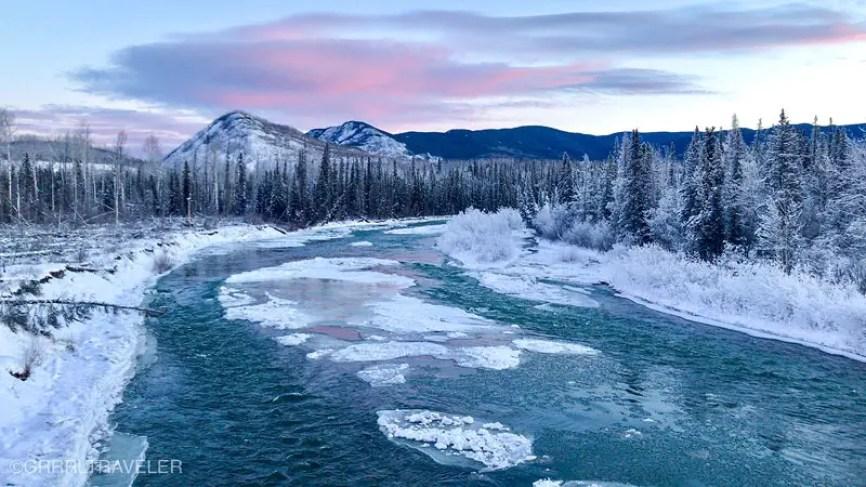 alaska highway river