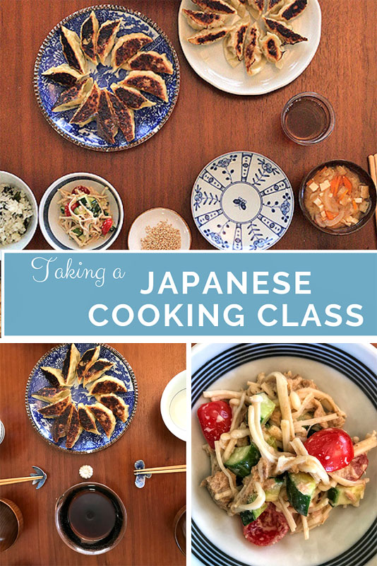 Taking a Japanese Cooking Class in Tokyo