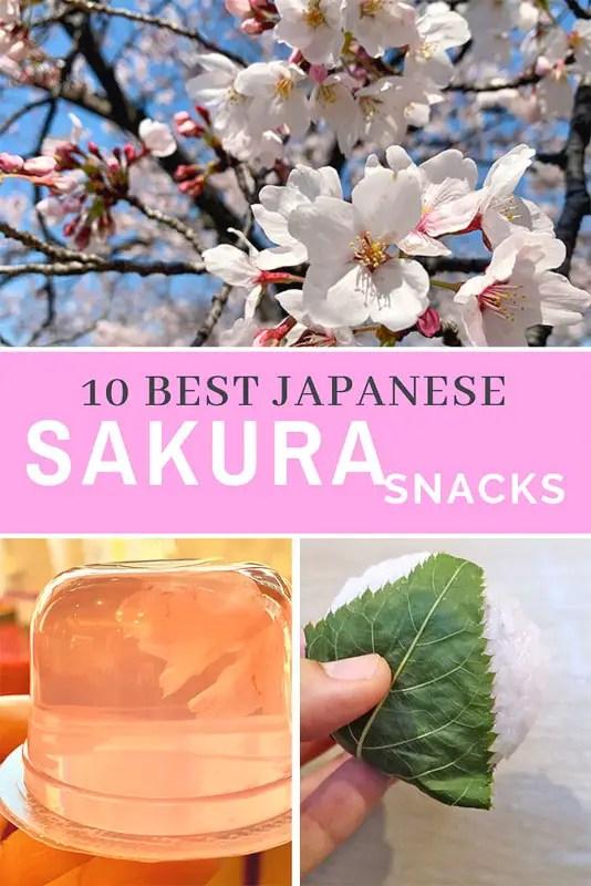 10 MUST TRY Japenese sweets for sakura season