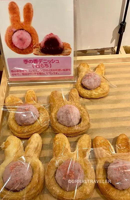 miffy sakura bread, japanese sakura breads, top 10 sakura sweets, top 10 sakura snacks, 10 must try sakura snacks