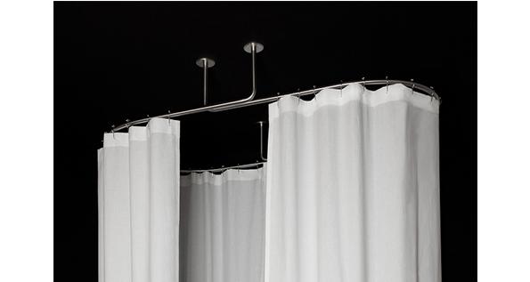 barre pour rideau de douche ou pour