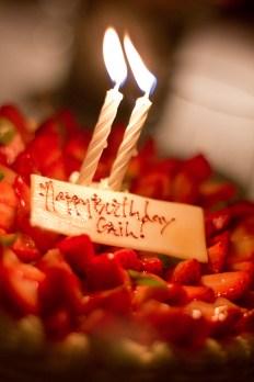 it's almost my birthday cake