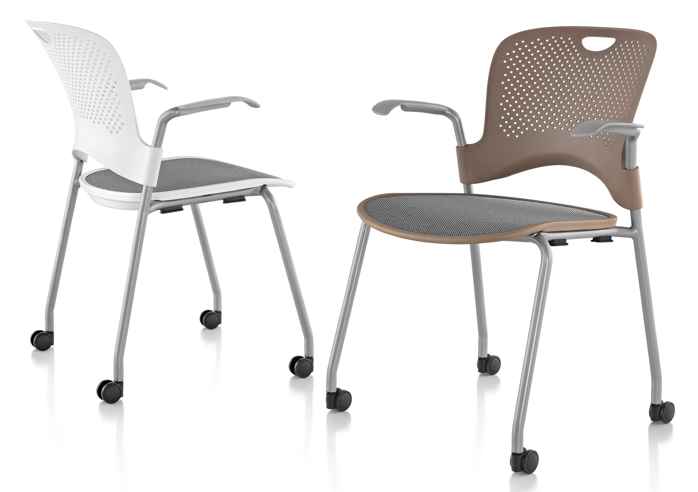 herman miller stacking chairs baby moving chair caper with flexnet gr