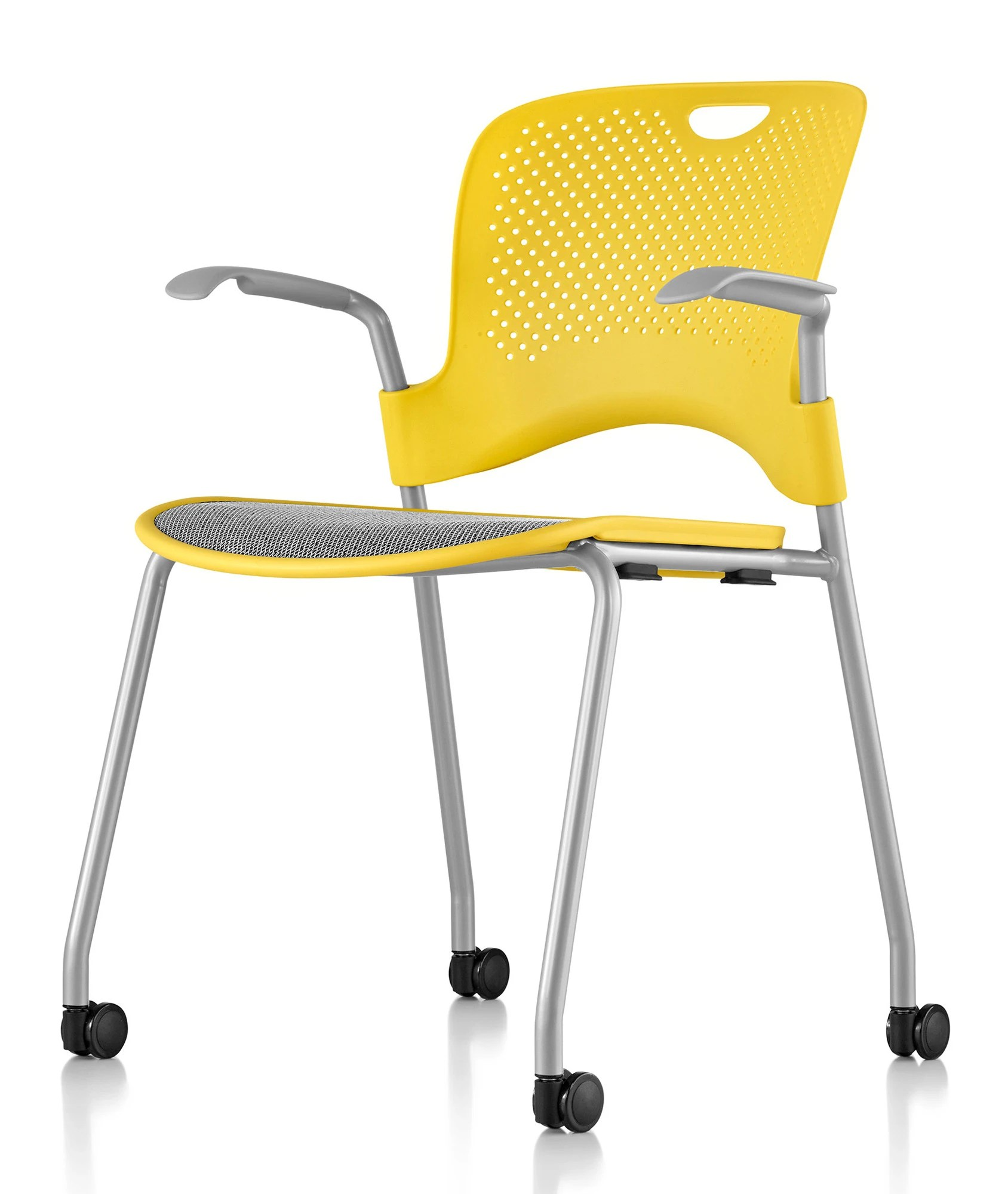 herman miller caper chair zero gravity cup holder caper® - stacking with flexnet™ gr shop canada