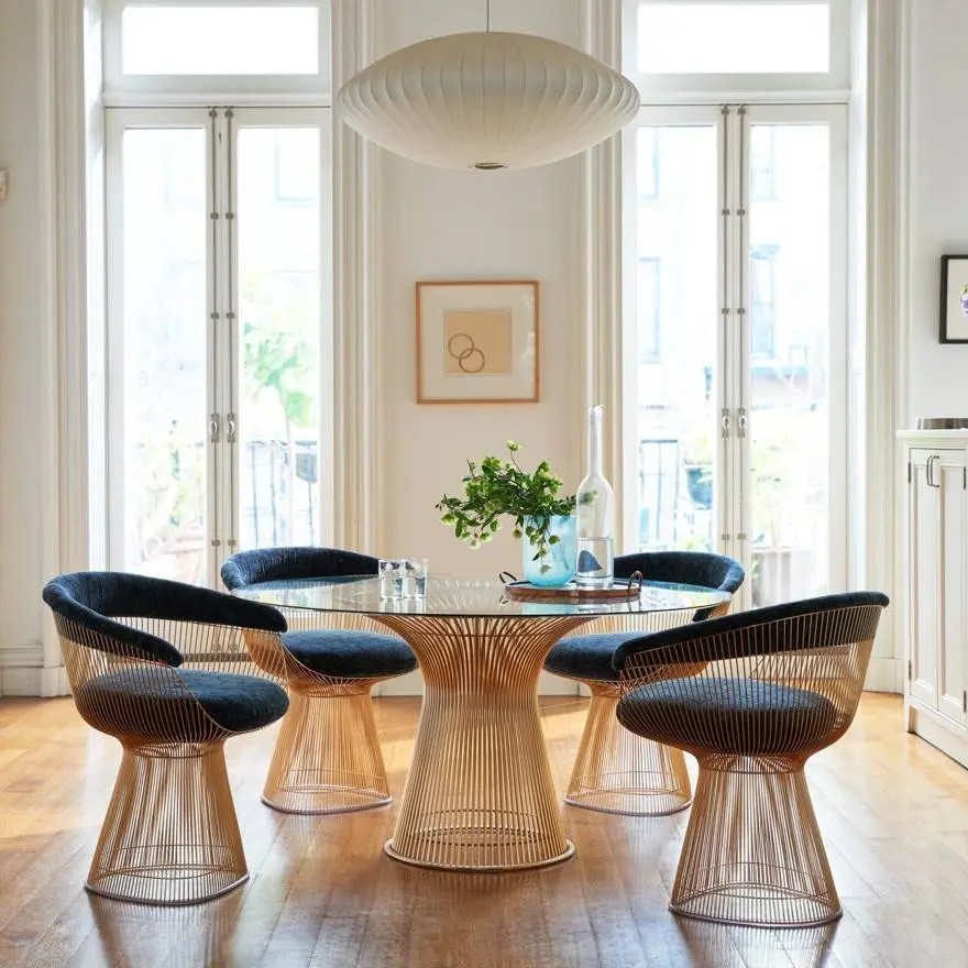 Knoll Warren Platner  Seating Collection  Arm Chair in