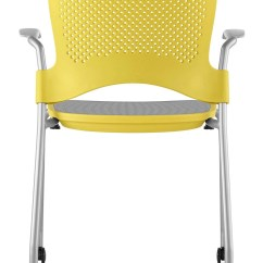 Herman Miller Stacking Chairs Grey Nursery Chair Uk Caper With Flexnet Gr