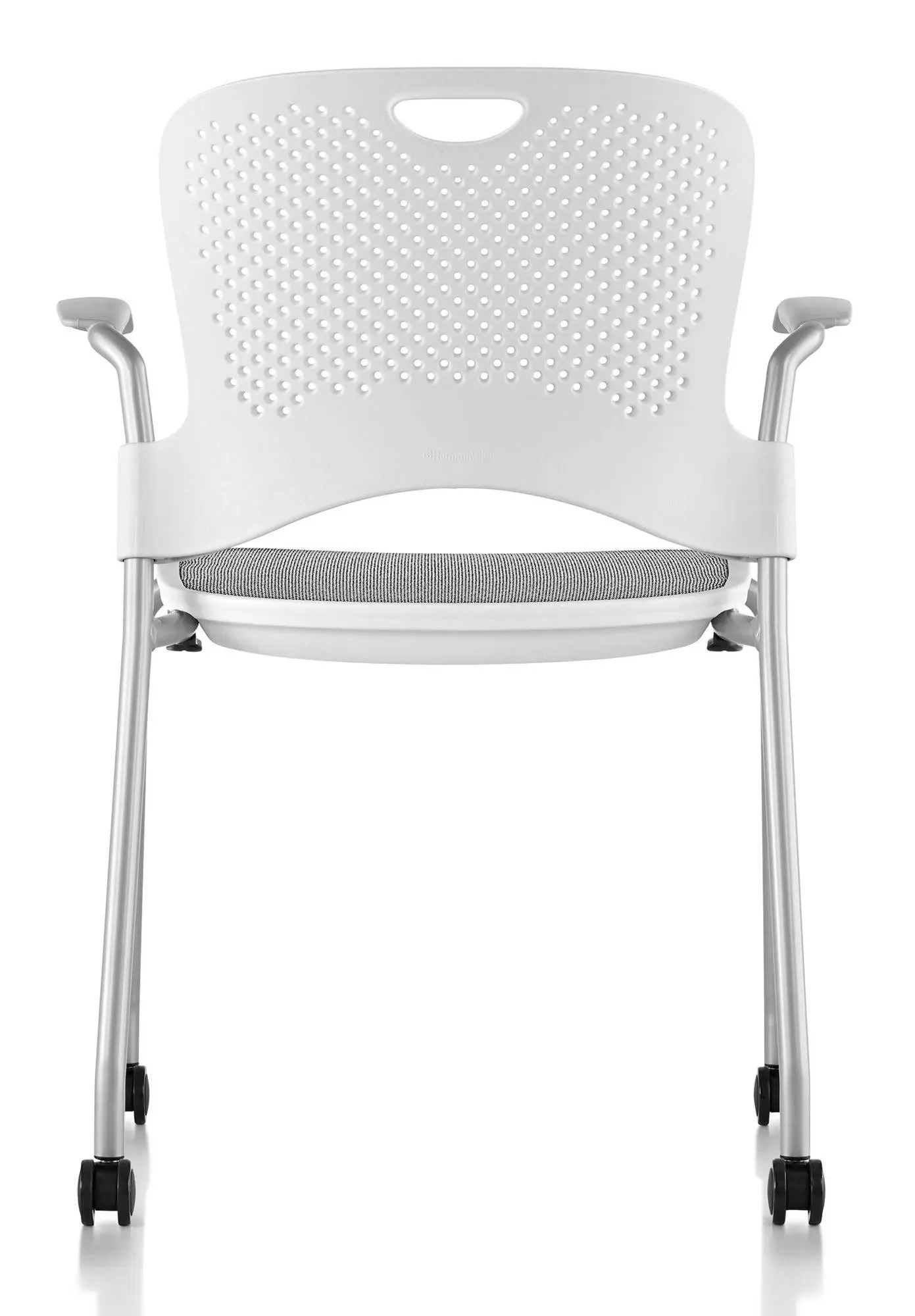 Caper Chair Herman Miller Caper Stacking Chair With Flexnet Gr