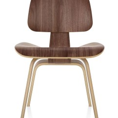 Eames Wood Chair Original Herman Miller Molded Plywood Dining