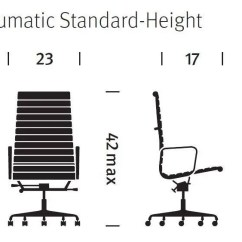 Diagram Of Pneumatic Office Chair 1998 Saturn Sl1 Wiring Herman Miller Eames Aluminum Group Executive 1
