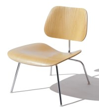 Herman Miller Eames Molded Plywood Lounge Chair - Metal ...