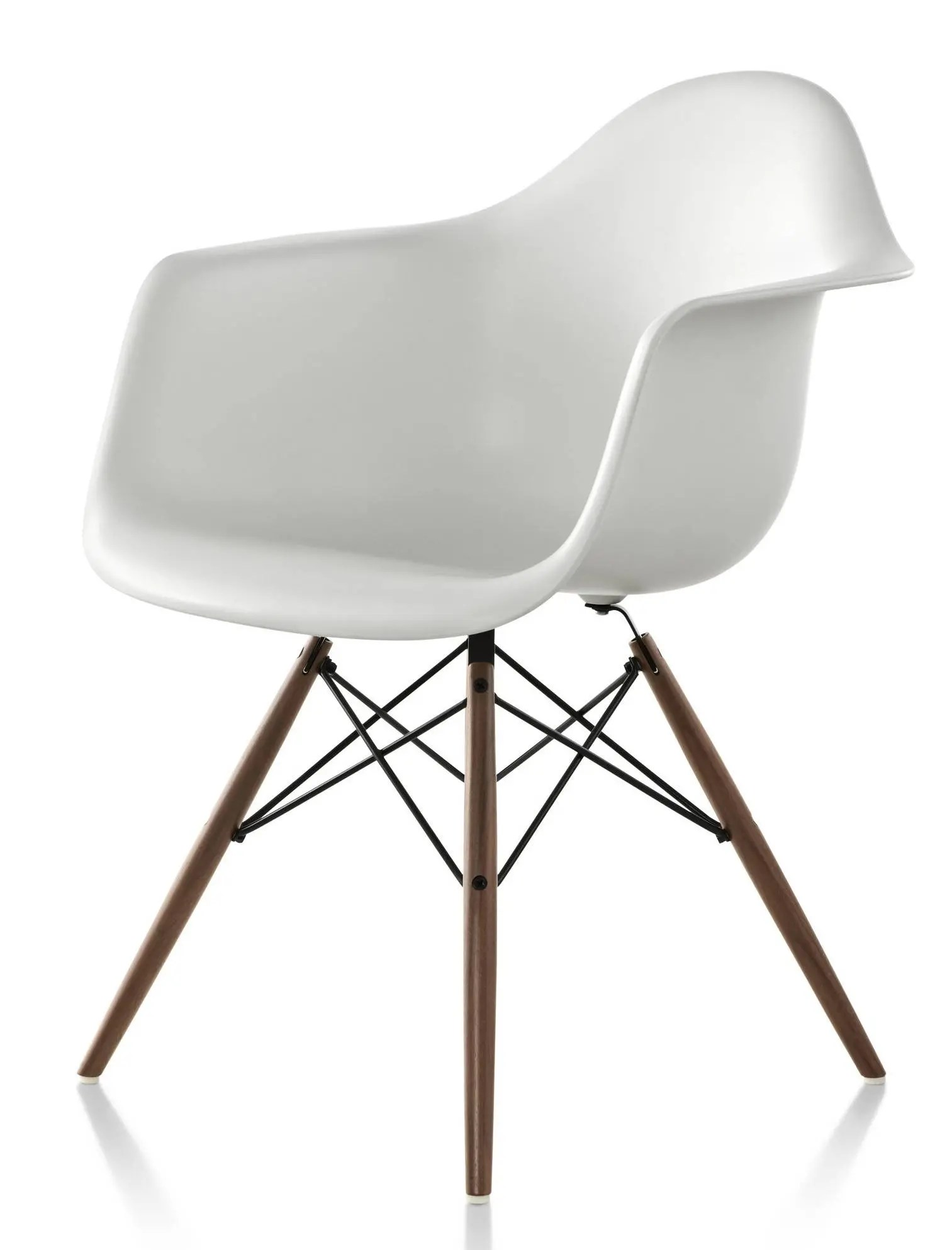 eames arm chair kimball office herman miller molded plastic armchair 1