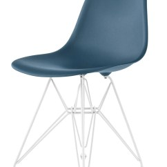 Eames Molded Side Chair Swing Bamboo Herman Miller Plastic Gr Shop