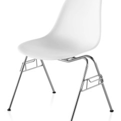 Plastic Molded Chairs Teak Lounge Chair With Wheels Herman Miller Eames Side Gr Shop