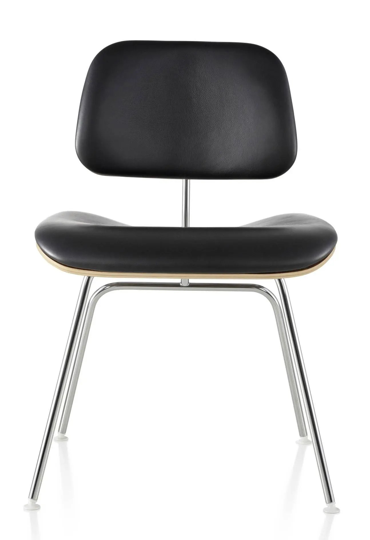 metal leg chair building a rocking plans herman miller eames molded plywood upholstered dining