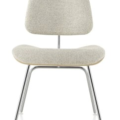 Metal Leg Chair Dental Accessories Herman Miller Eames Molded Plywood Upholstered Dining