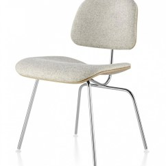 Metal Leg Chair Cover Rentals Lakeland Fl Herman Miller Eames Molded Plywood Upholstered Dining