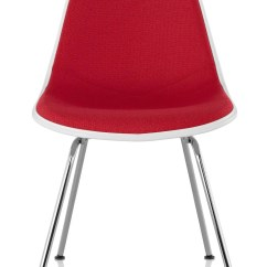 Plastic Molded Chairs High Chair For Bar Herman Miller Eames Side Upholstered