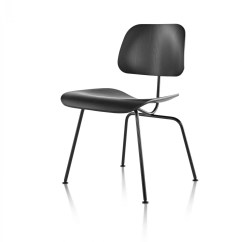 Eames Dining Chair Wheelchair Uber Herman Miller Molded Plywood Metal