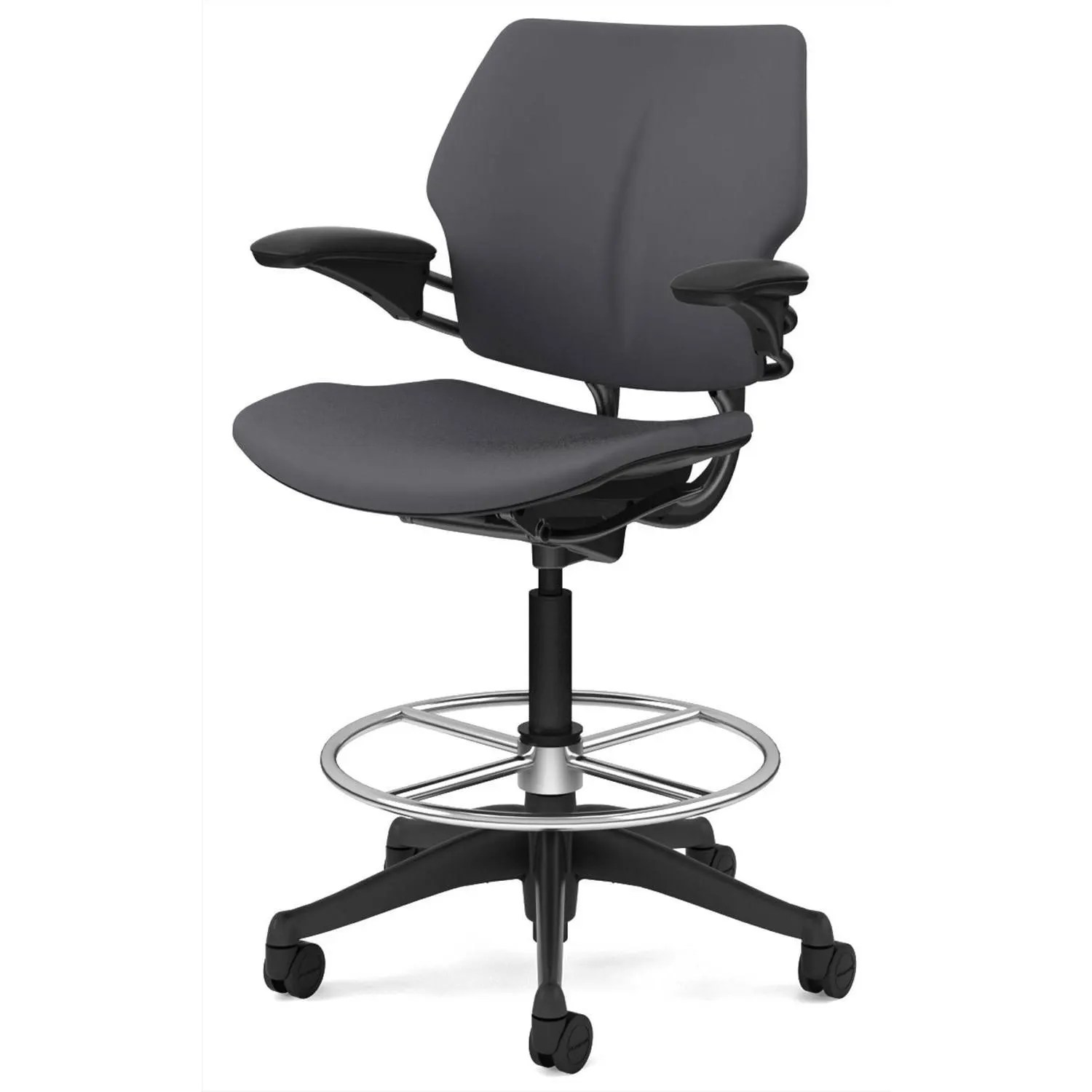 freedom task chair with headrest folding gif source humanscale - drafting gr shop canada
