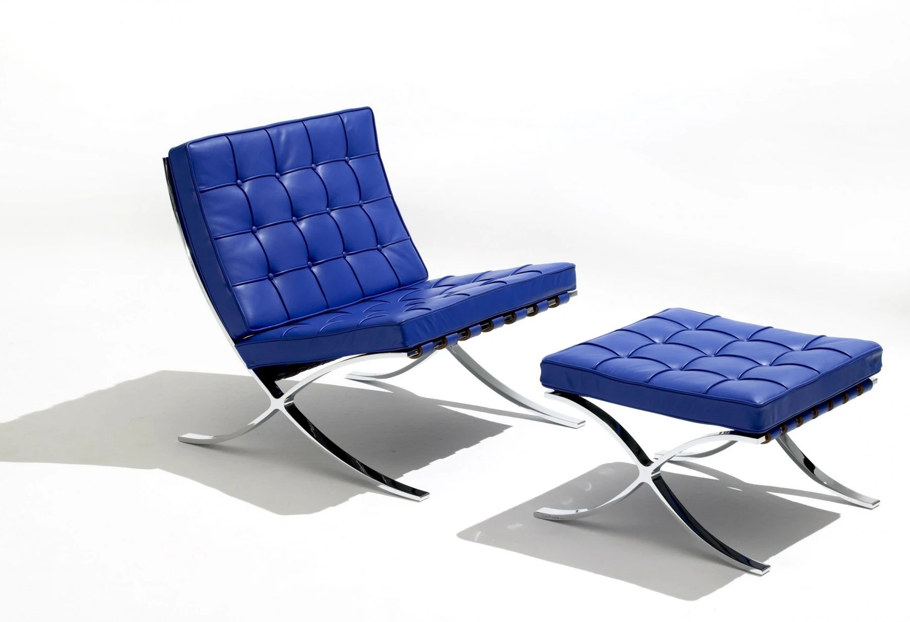 Barcelona Lounge Chair Knoll Ludwig Mies Van Der Rohe Barcelona Lounge Chair