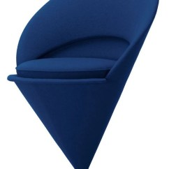 Swivel Arm Chairs Salon Reception Vitra Verner Panton Cone Chair - Gr Shop Canada