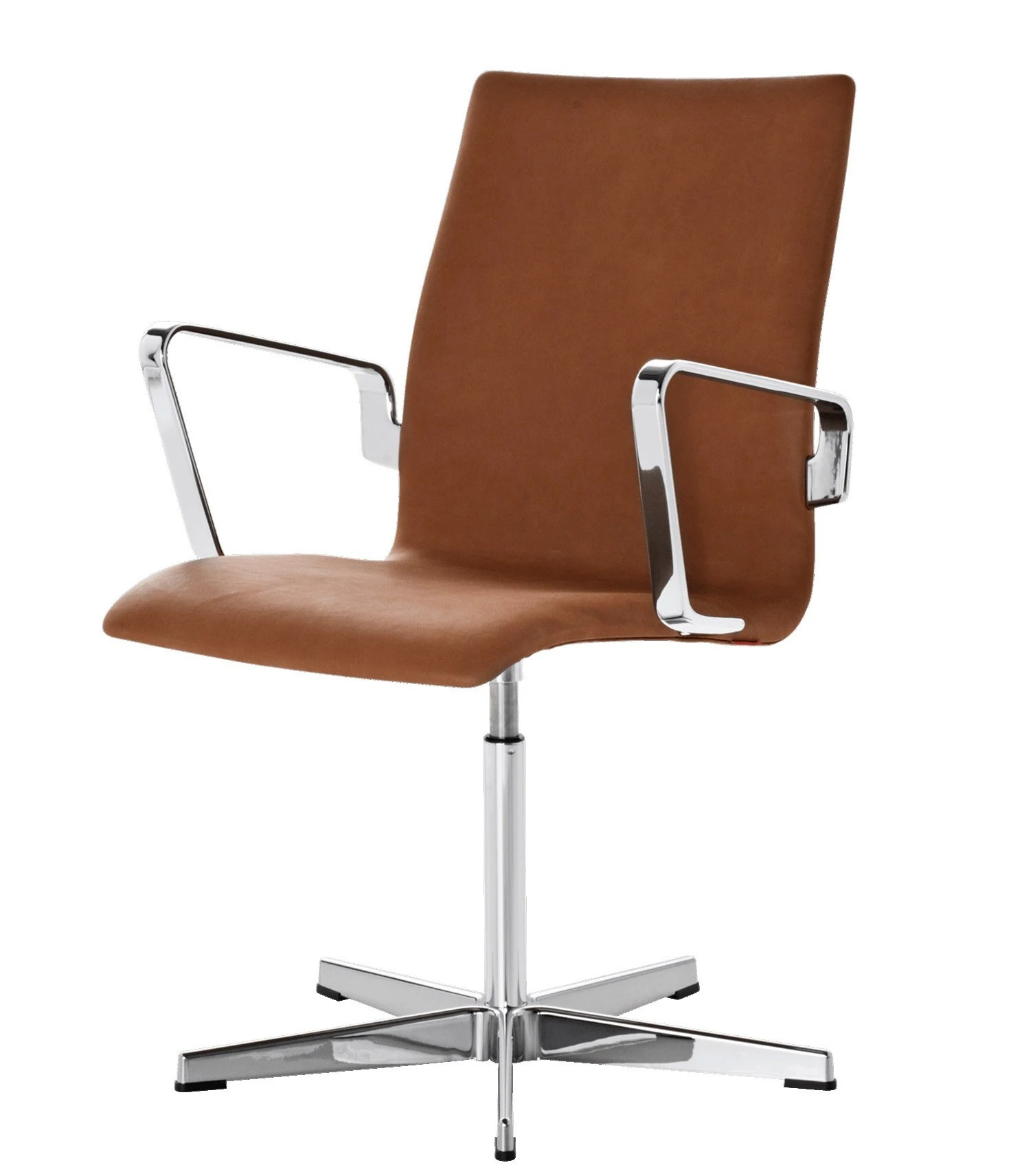 Fritz Hansen Chairs Fritz Hansen Oxford Classic Low Back Chair Fixed Seat Height With Toes