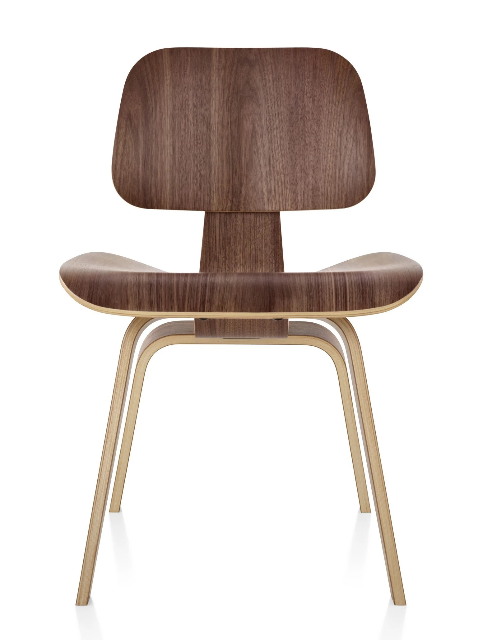 Herman Miller Eames Molded Plywood Dining Chair  Wood Legs