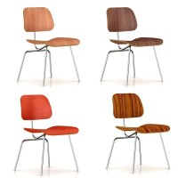 Herman Miller Eames Molded Plywood Dining Chair - Metal ...