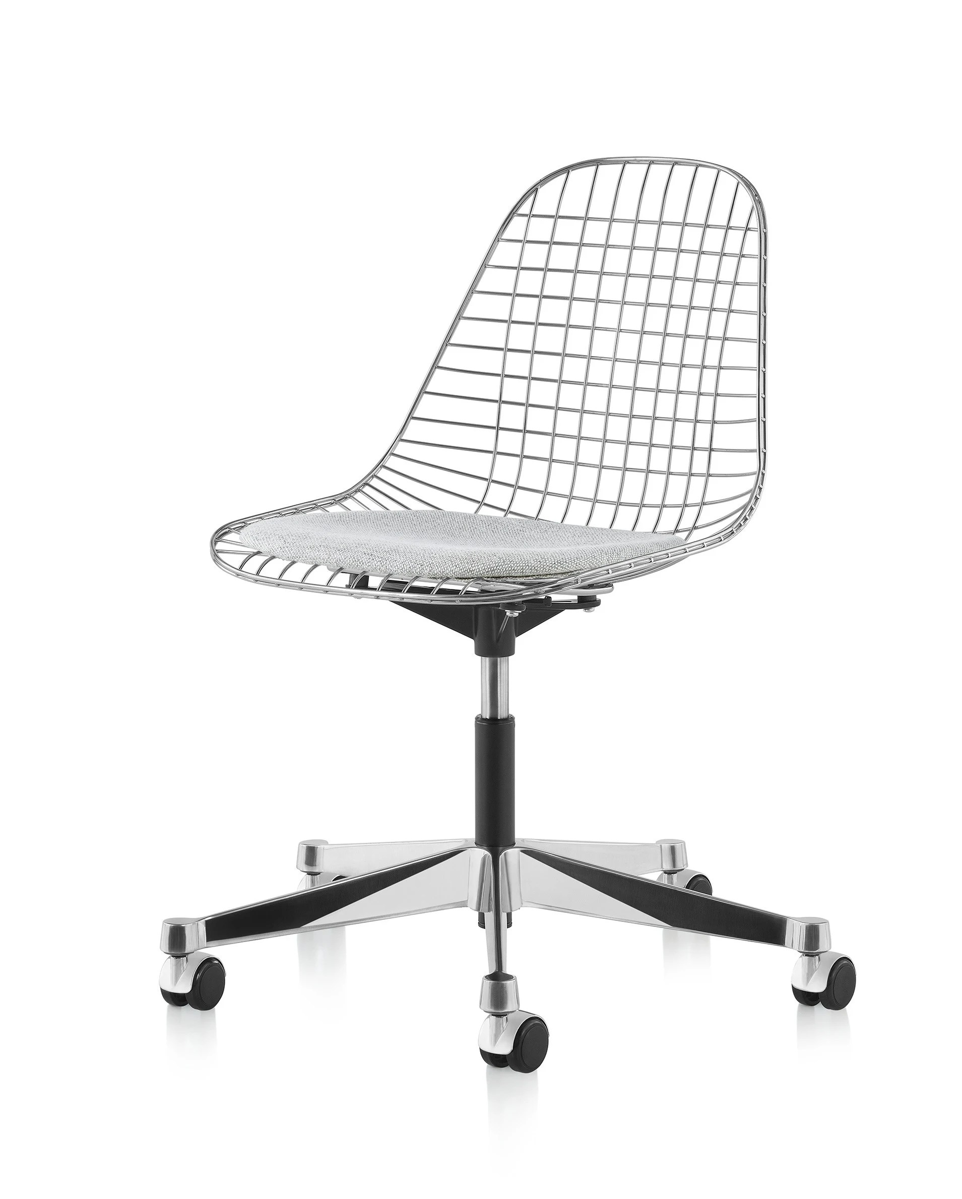 Eames Wire Chair Herman Miller Eames Wire Task Side Chair