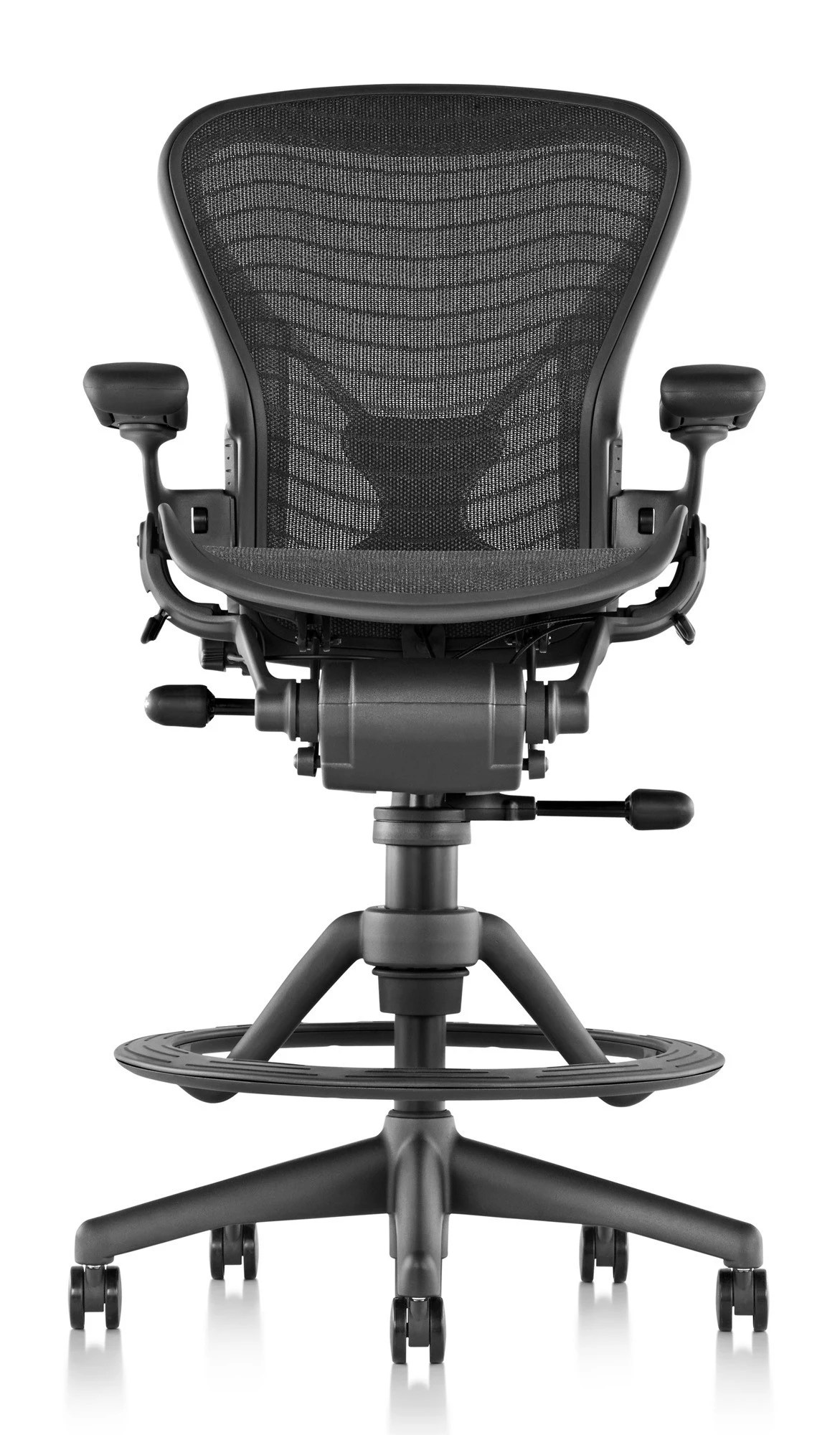 aeron chair canada black leather swivel club herman miller classic stool build your own gr