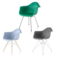 Herman Miller Eames Molded Plastic Armchair - GR Shop Canada