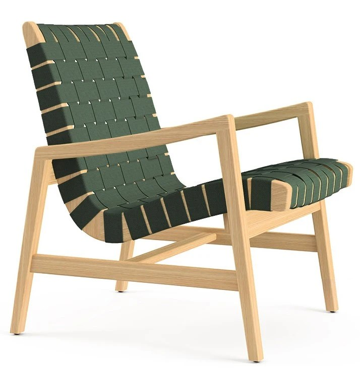 Knoll Jens Risom  Lounge Chair with Arms
